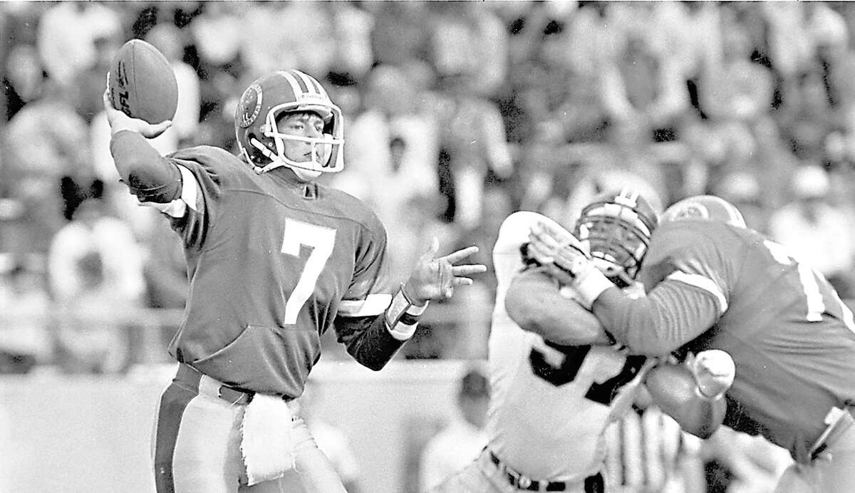 Rick Neuheisel once quarterback the San Antonio Gunslingers and is open to coaching a new USFL incarnation of the team.