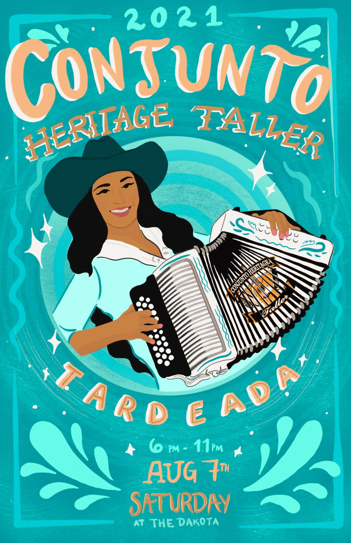 Conjunto Heritage Taller (CHT), a community organization which provides low-cost and at times free music instruction across San Antonio to preserve the tradition, is hosting the August 7 tardeada at the East Side spot to focus on the women in the industry.