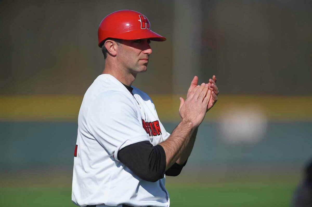 New Keene State coach Justin Blood, who spent 10 years at Hartford.