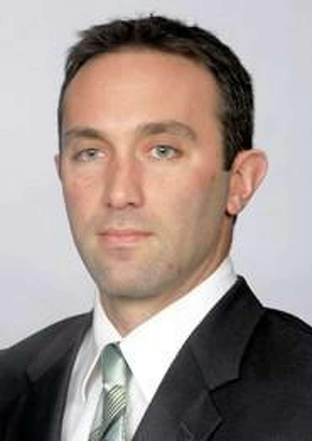 Former Hartford baseball coach Justin Blood, the new coach at Keene State.
