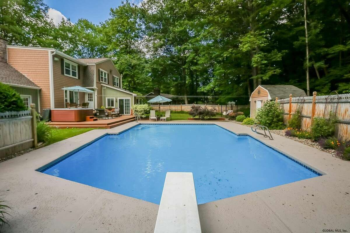 Ever dream of owning a home with a pool? Summer is the perfect time to make those dreams a reality with any of these properties in the Capital Region that on the market now.