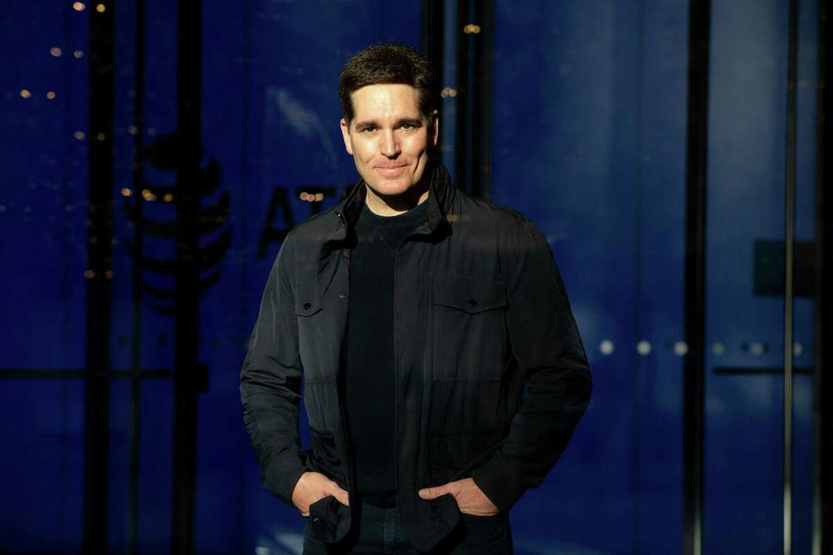 Jason Kilar, WarnerMedia's chief executive since May, in Dallas on Dec. 10, 2020. Kilar's decision to release 2021 movies simultaneously in theaters and on HBO Max has angered many in the industry, including some of the star filmmakers his company relies on. (Allison V. Smith/The New York Times)