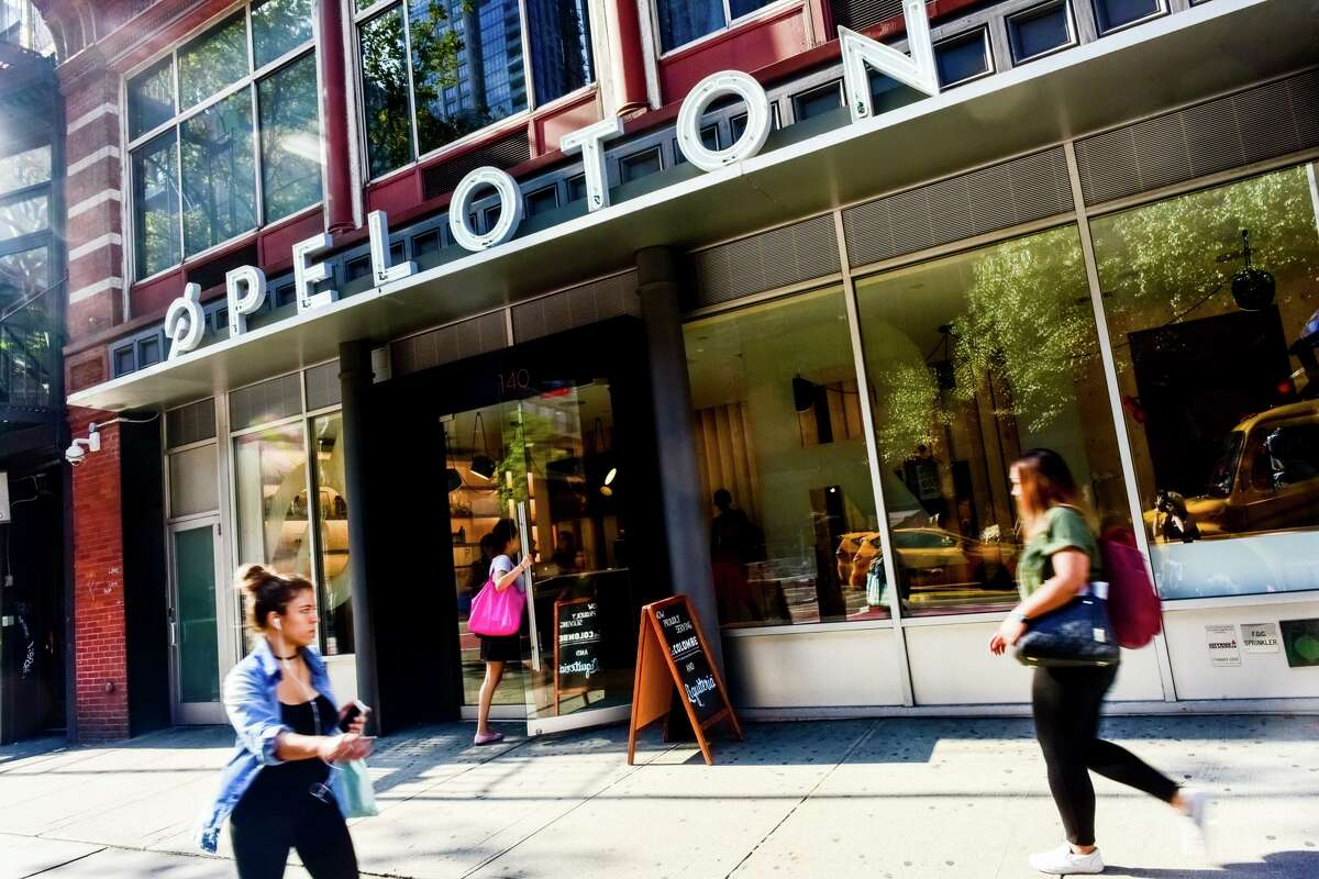 A Peloton showroom is slated to open in Market Street shopping venue in The Woodlands. The Peloton high-tech exer-cycle showroom and dealership is expected to open sometime in the fall.