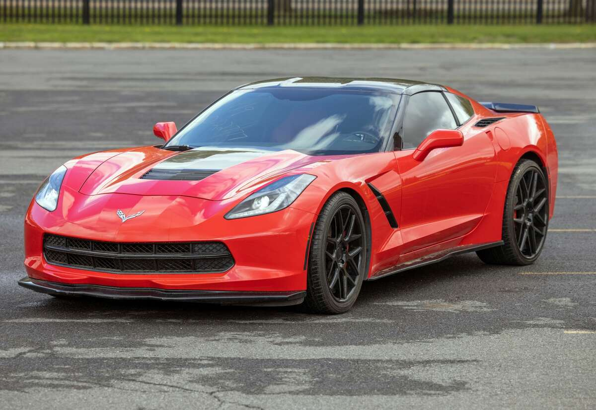 OGS is auctioning off this 2015 Corvette later in July.