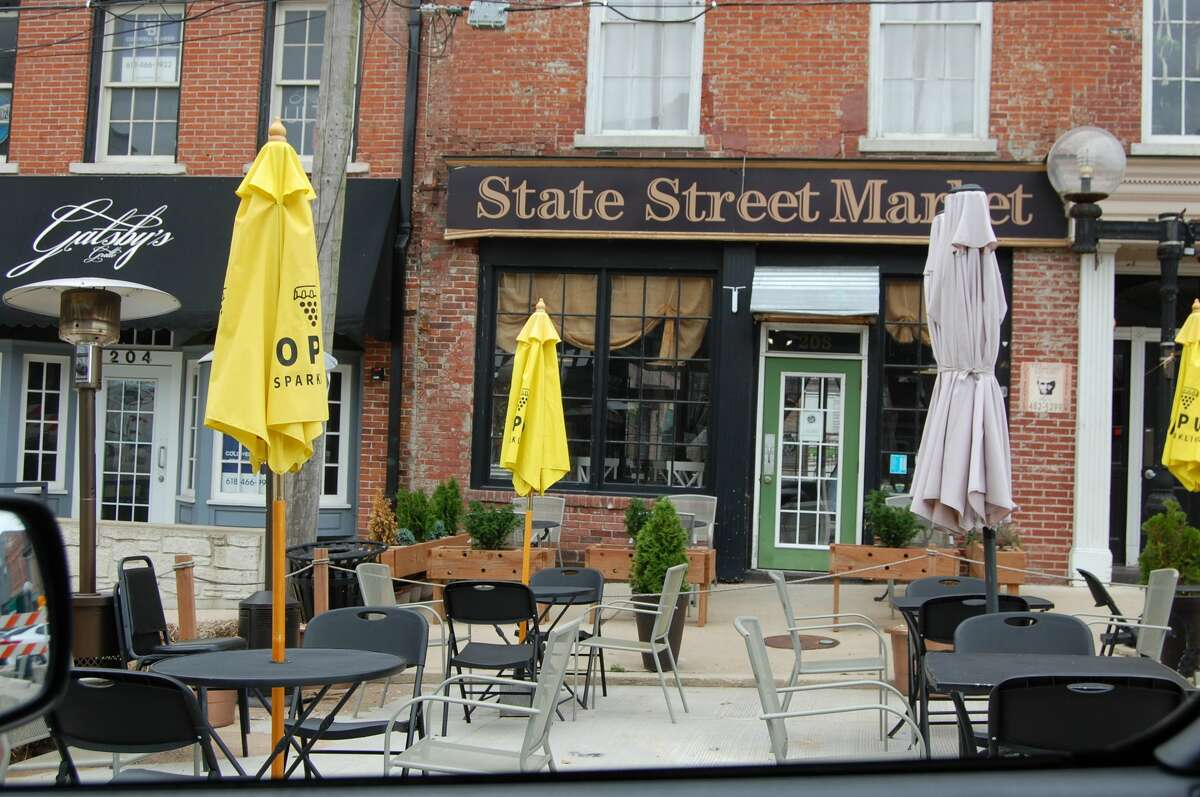 State Street Market, 208 State St., Alton: Managers and employees are quick to mention that they're dog-friendly for anyone who wishes to bring their furry friend out on the town. Water bowls and treats are available for your dog to enjoy some snacks on the patio while you get a tasty meal.