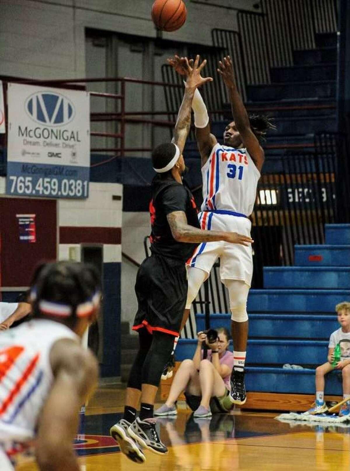 Kokomo BobKats basketball player Tremont Moore.