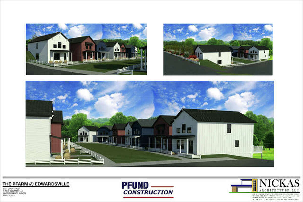 These renderings depict what the Pfarm at East Union should look like when finished.