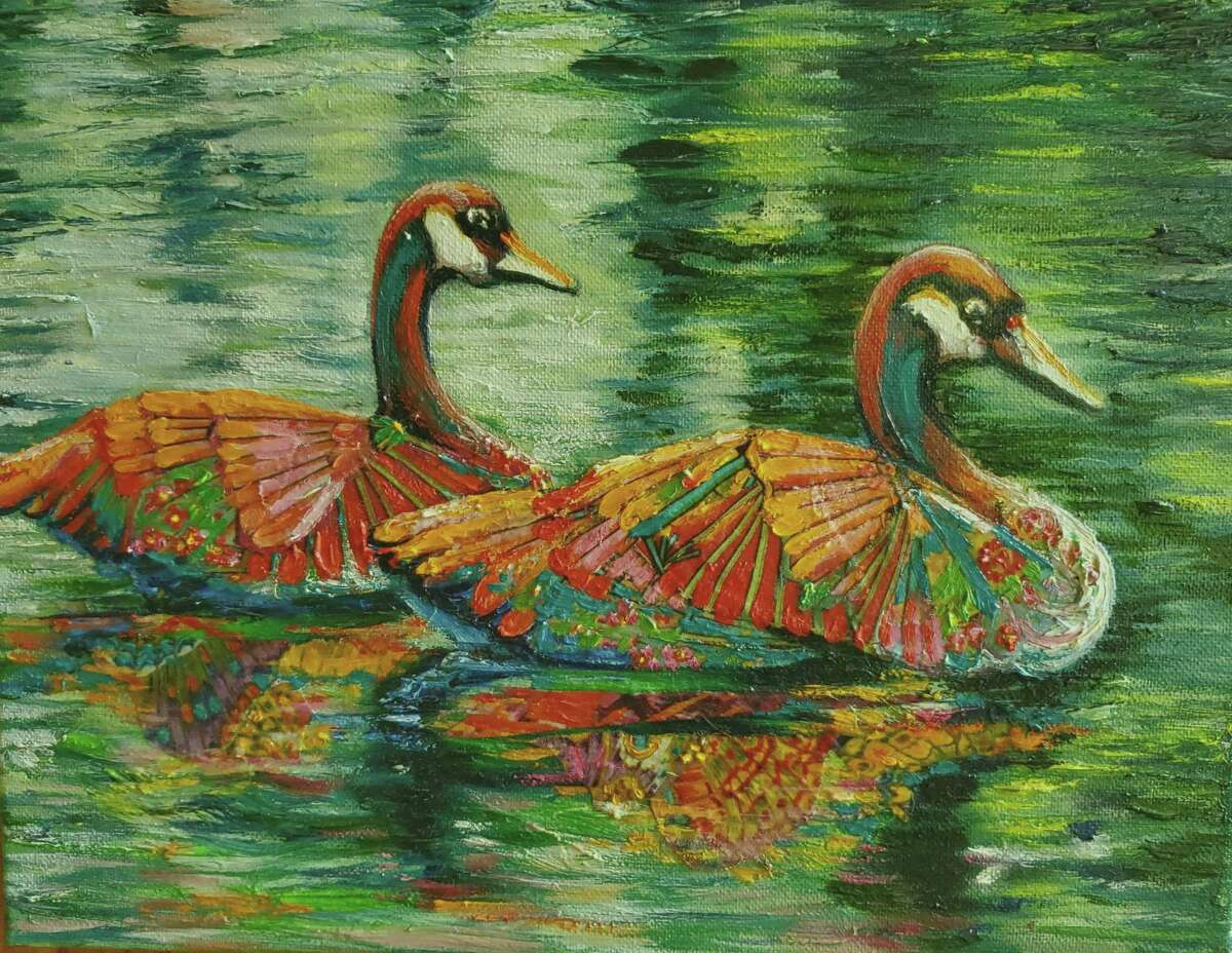 Spectrum Art Gallery and Artisans Store's newest exhibit, Splashes, Drips and Drops, opens July 16 and runs through Sept. 5 at 61 Main Street, Centerbrook.