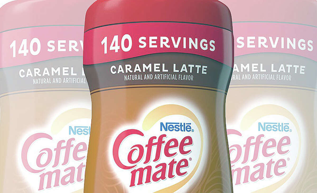 A federal lawsuit filed Tuesday in U.S. District Court in Central Illinois claims Nestle USA was misleading in its labeling of how many servings are in its 15-ounce caramel latte Coffee-mate.