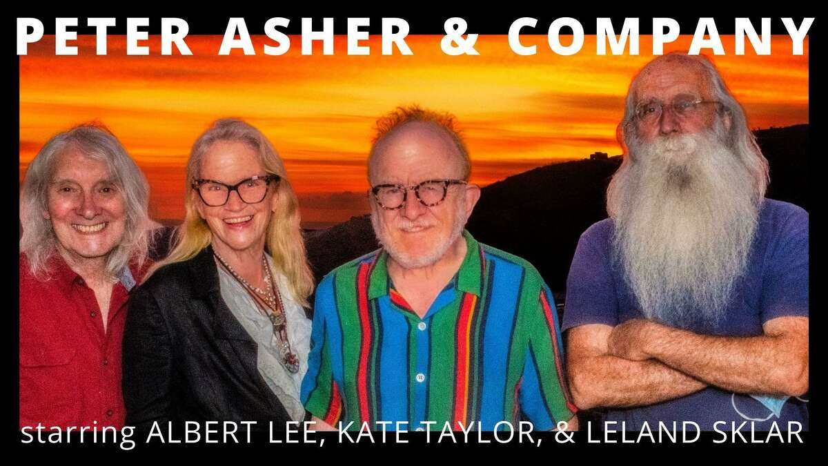 The Katharine Hepburn Cultural Arts Center presents Peter Asher and Company for two performances at 8 p.m. July 23, and 2 p.m. July 24.