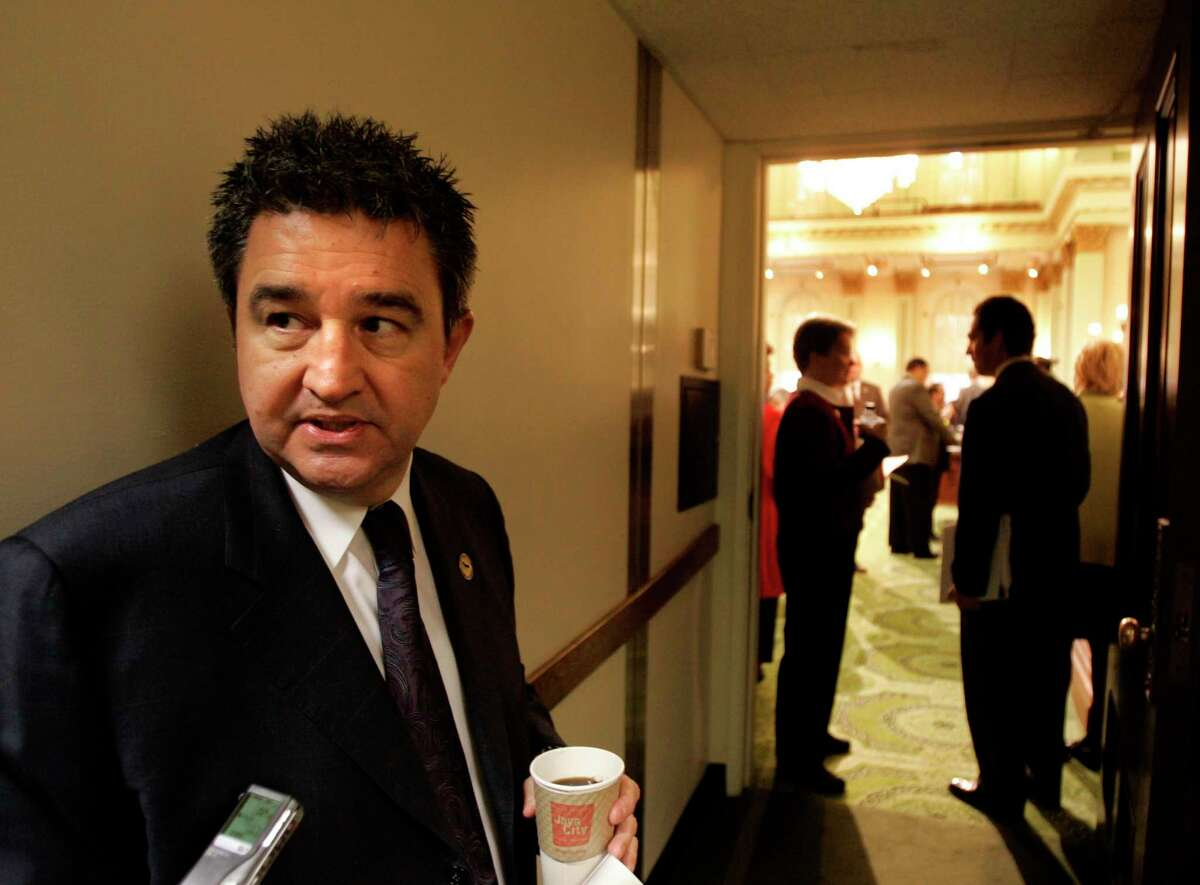 Longtime Contra Costa County politician Joe Canciamilla, pictured at the state Capitol in 2005, faces a year in jail after pleading guilty to misusing hundreds of thousands of dollars in campaign funds.
