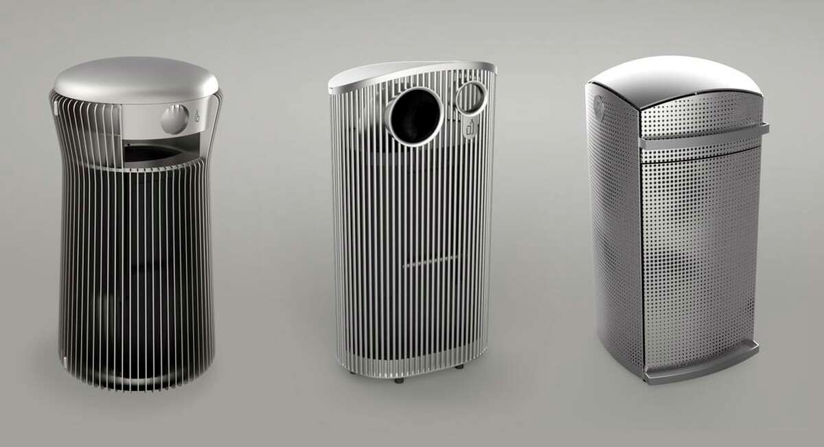 San Francisco Public Works has chosen three stainless steel prototypes it will test for replacing the city's 3,000 trash cans.