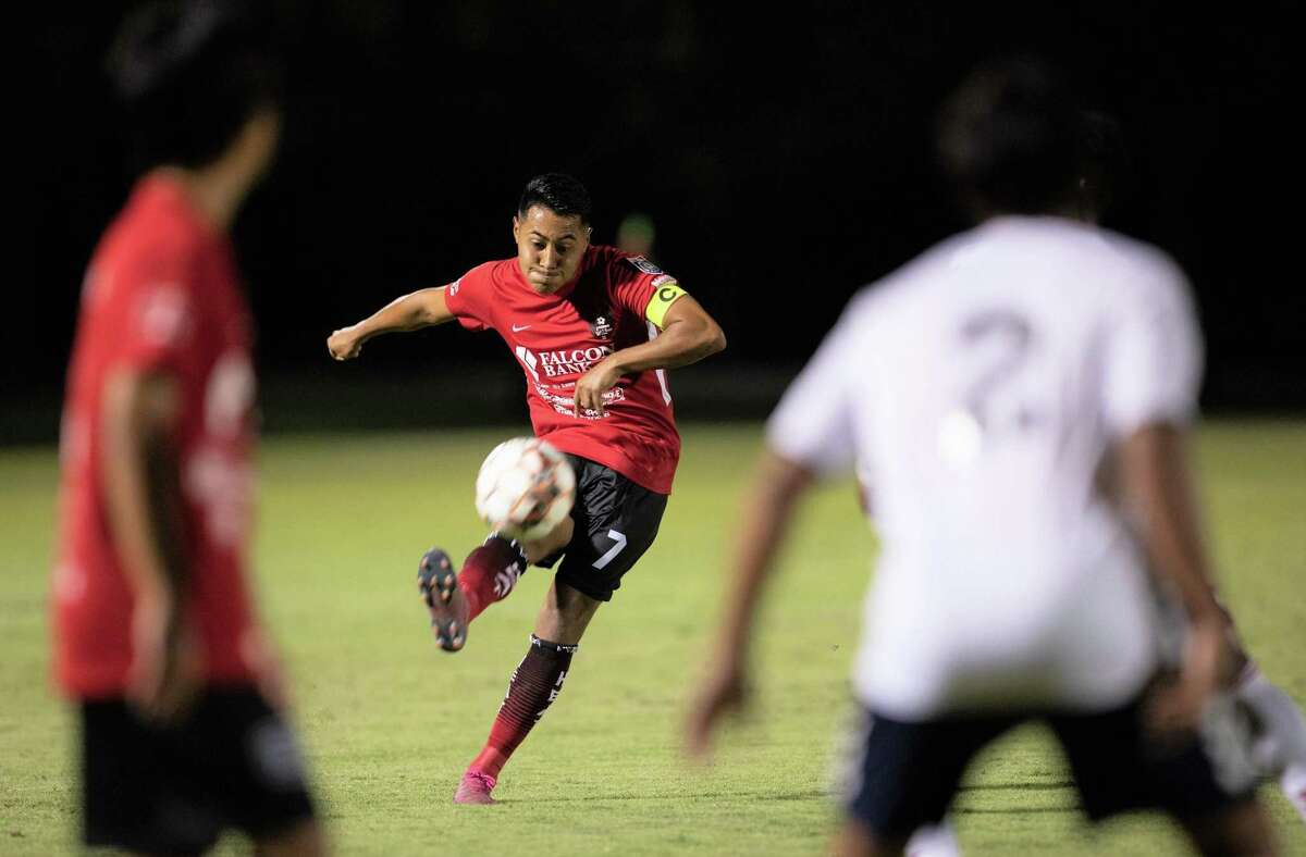 Erwin Regules and the Laredo Heat SC host the Midland-Odessa Sockers FC at 8 p.m. Wednesday at the TAMIU Soccer Complex in the Lone Star Conference semifinals.