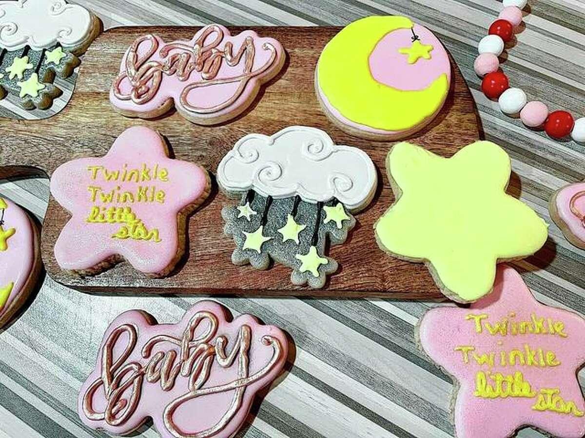 LeeAnn Eifert's iced sugar cookies feature a variety of designs.