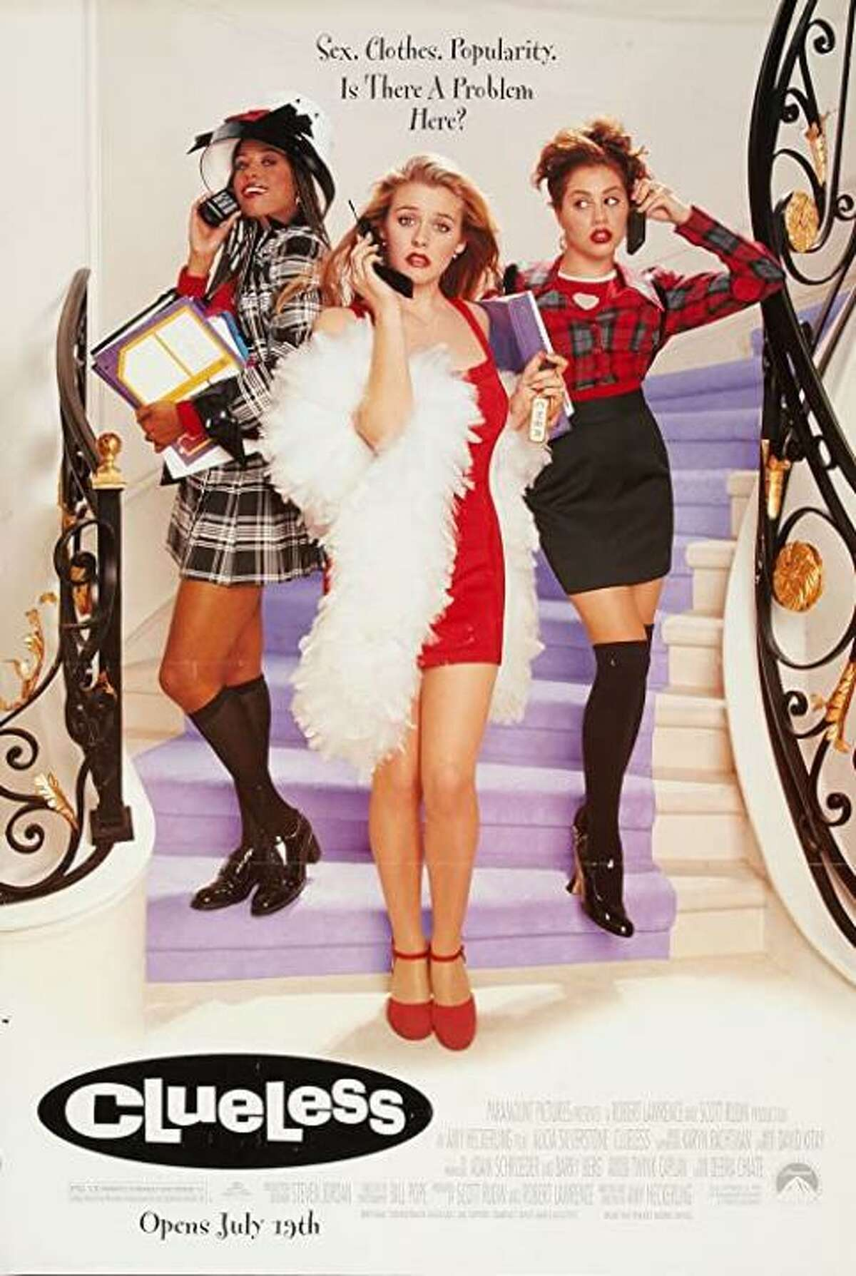"Alicia Silverstone - Born: San Francisco, California (10/4/1976) - Known for: --- Cher in ""Clueless"" (1995) --- Batgirl in ""Batman & Robin"" (1997) --- Eve in ""Blast from the Past"" (1999)"
