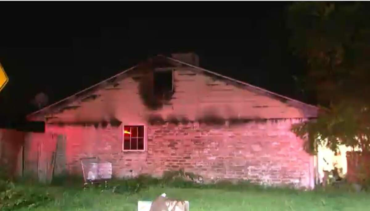 Firefighters extinguished flames early Wednesday, July 14, at a southwest Houston group home.