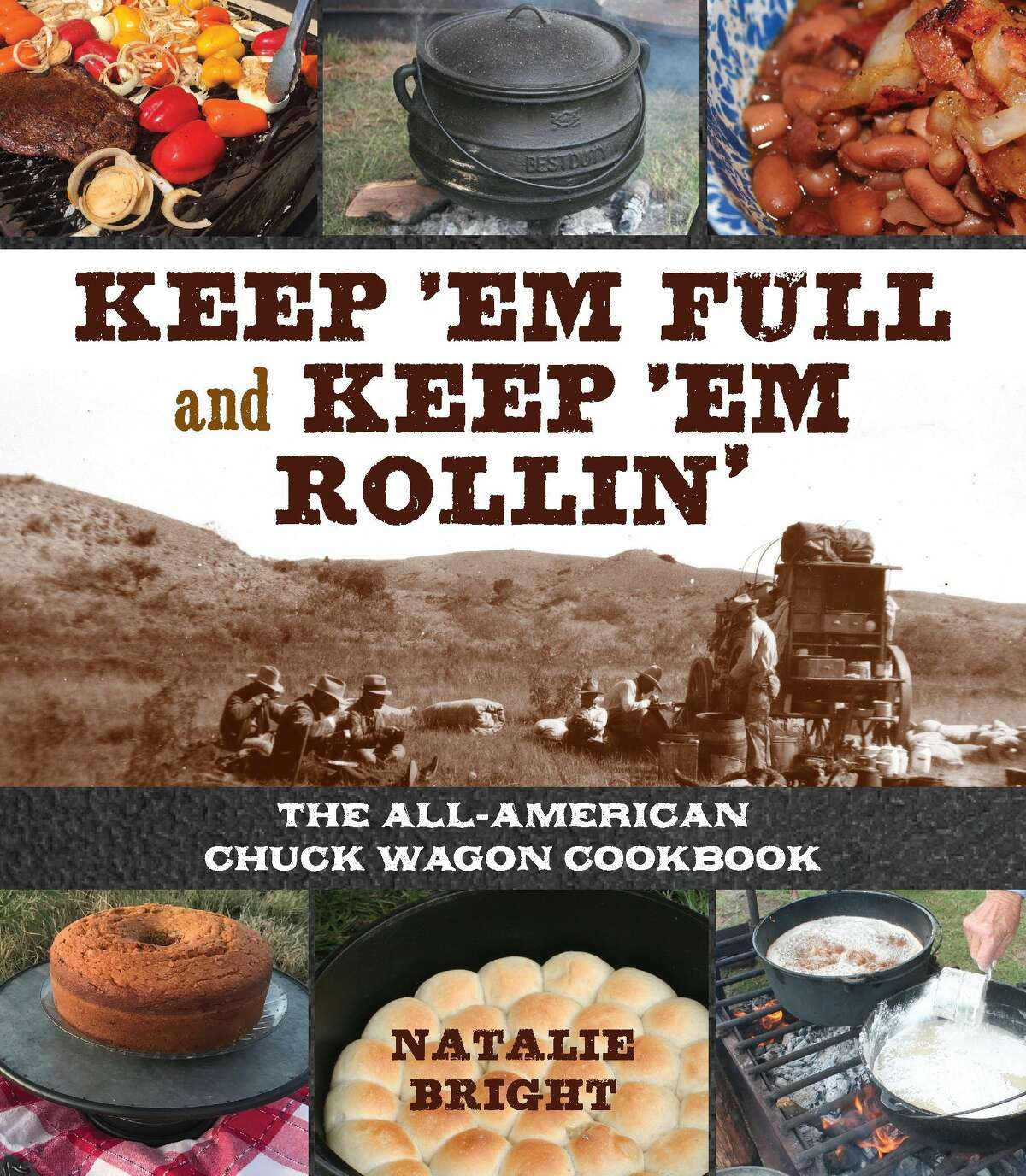 """Natalie Bright will be on hand to autograph copies of her""""Keep 'Em Full and Keep 'Em Rollin"""" cookbook."""