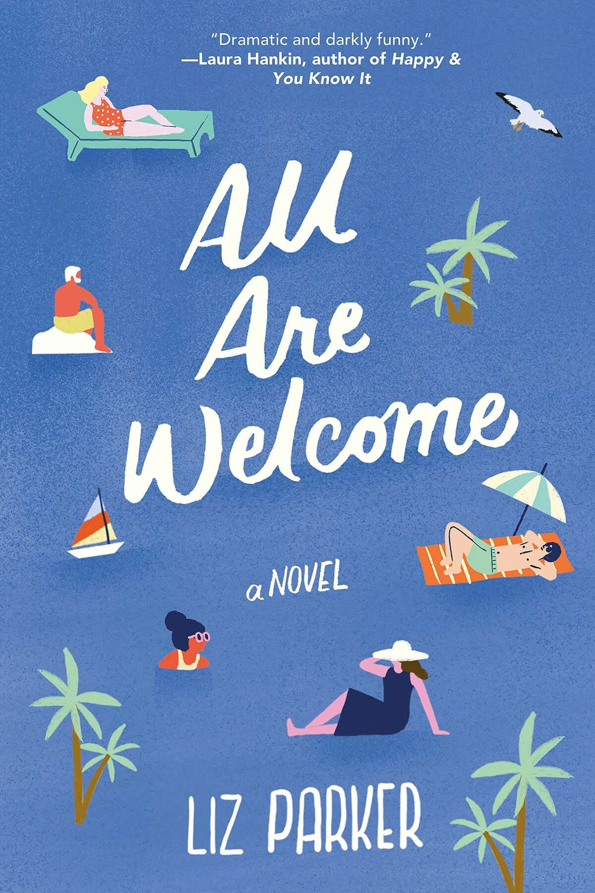 """""""All Are Welcome"""" is Liz Parker's debut novel."""
