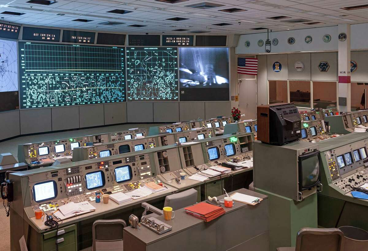 NASA Lyndon B. Johnson Space Center received a 2020 Good Brick Award from Preservation Houston for restoring the Apollo Mission Control Center (1969).