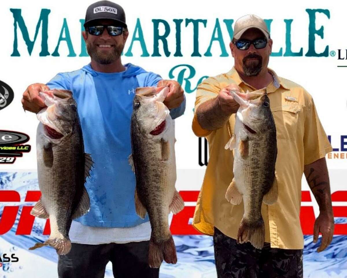 Cody Hall and Garrett Pierce came in first place in the CONROEBASS Weekend Summer Series Tournament with a weight of 19.08 pounds.