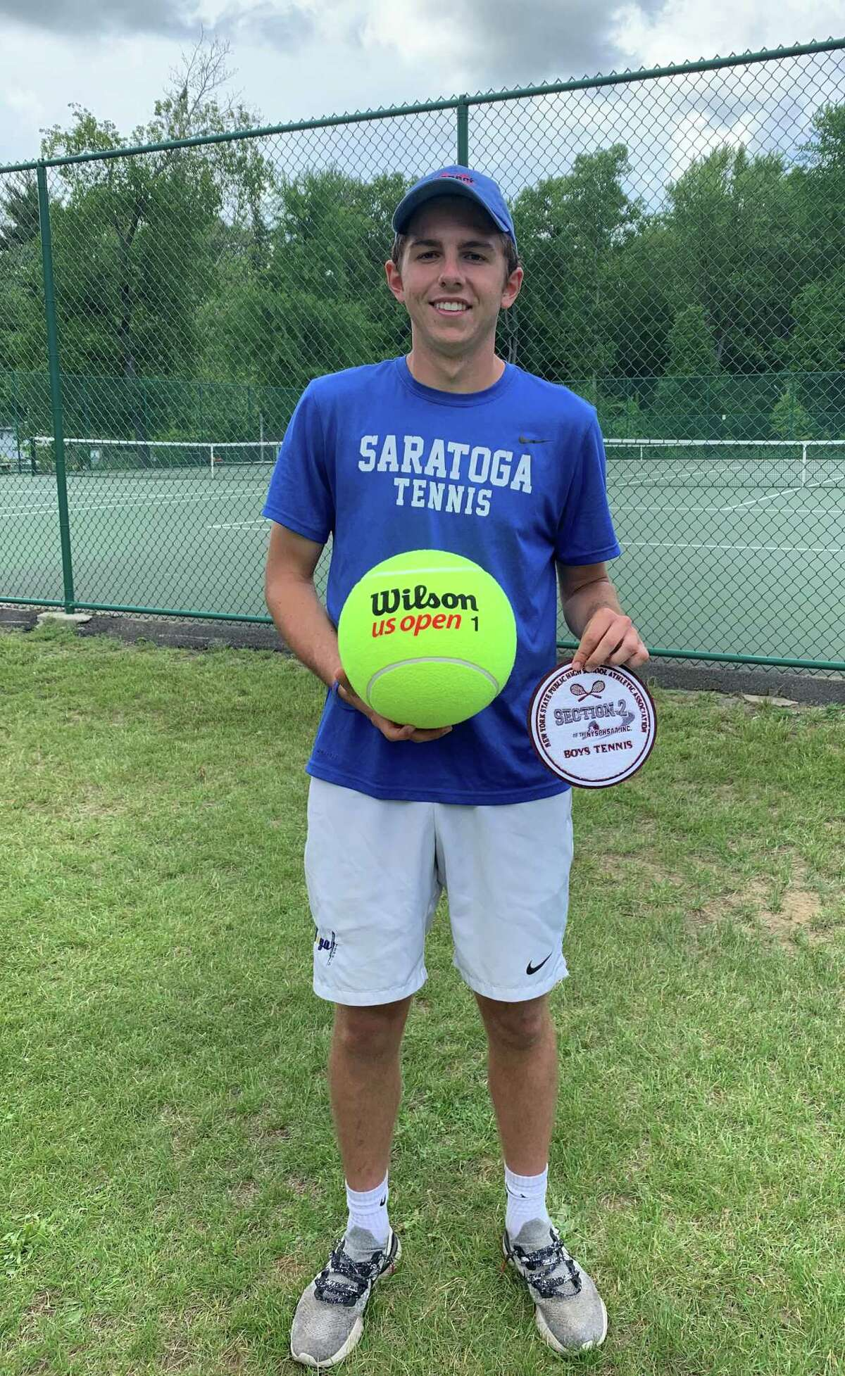 Boys' tennis Athlete of the Year Nick Grosso of Saratoga Springs High School.