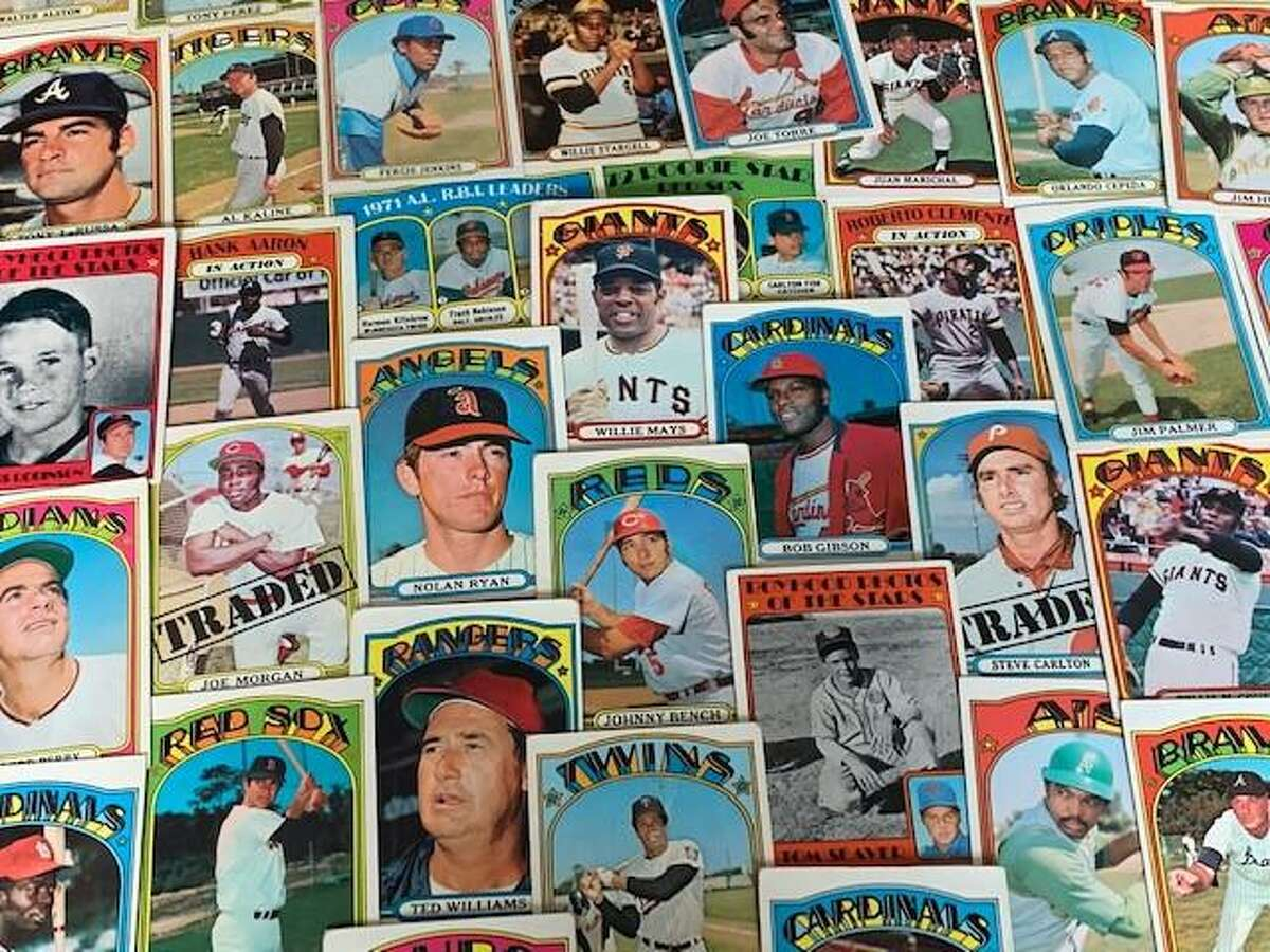 The 1972 Topps baseball card set isn't short of Hall of Famers, boasting 47 in all.
