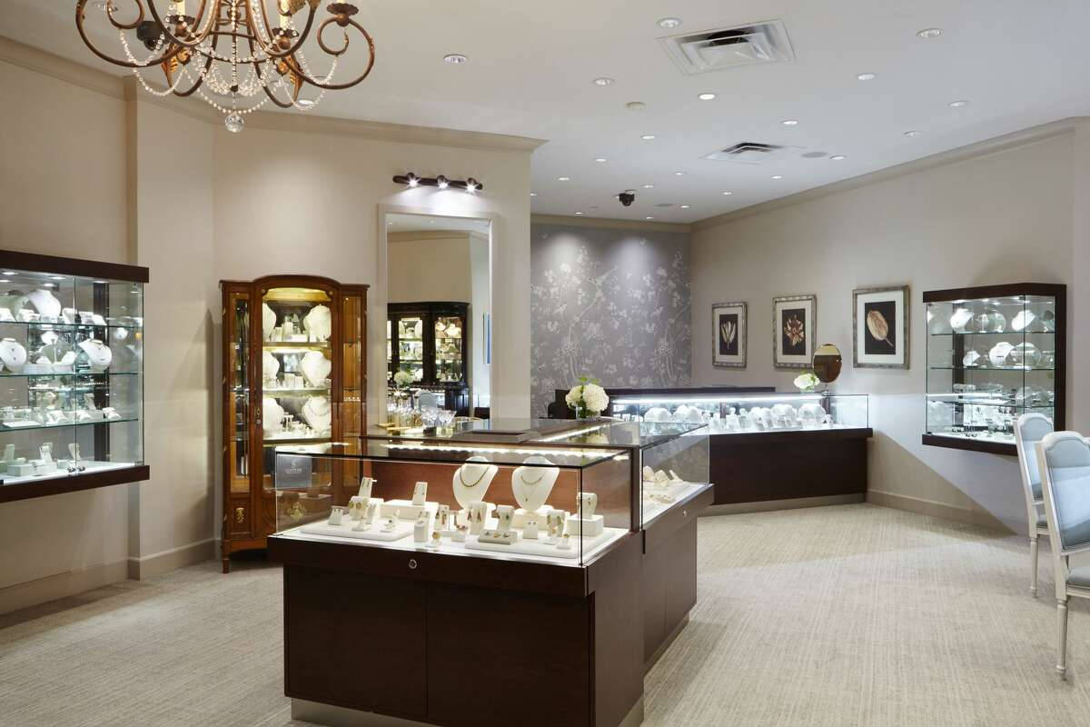 The interior of the newly-renovated Shetler Fine Jewelers