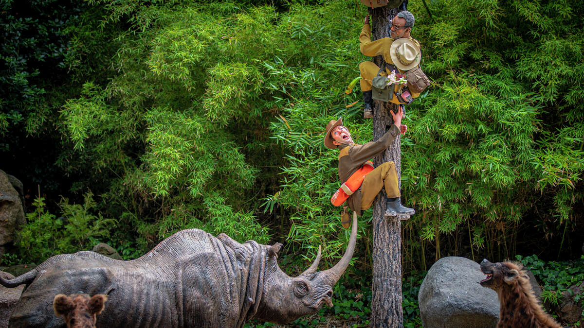 Things go awry for a safari of S.E.A. explorers on the new Jungle Cruise ride.