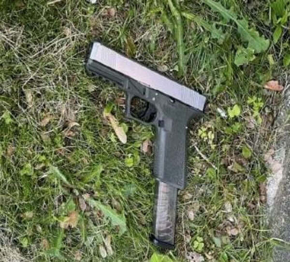 """A picture released by Stratford police of a """"ghost gun"""" recovered after being used by a juvenile in a confrontation with police in May."""