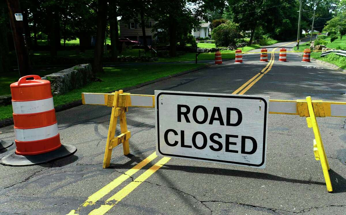 A deteriorating bridge over the Keelers Brook watercourse has prompted a detour at the intersection of Rowayton Avenue and Woodchuck Lane in Norwalk on Wednesday.