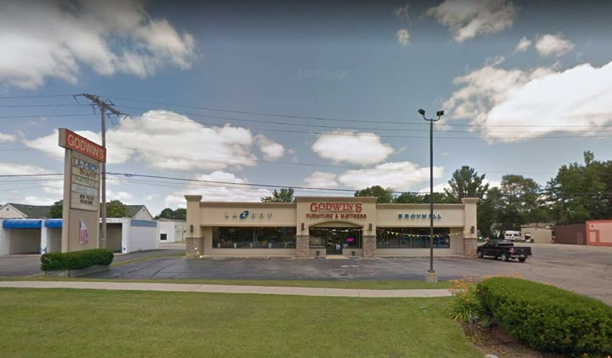Godwin's Furniture is located at 4906 N. Saginaw Road in Midland.