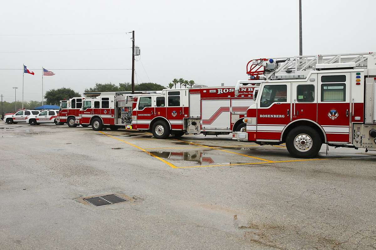 City of Rosenberg Fire Department fire trucks on display in this file photo.