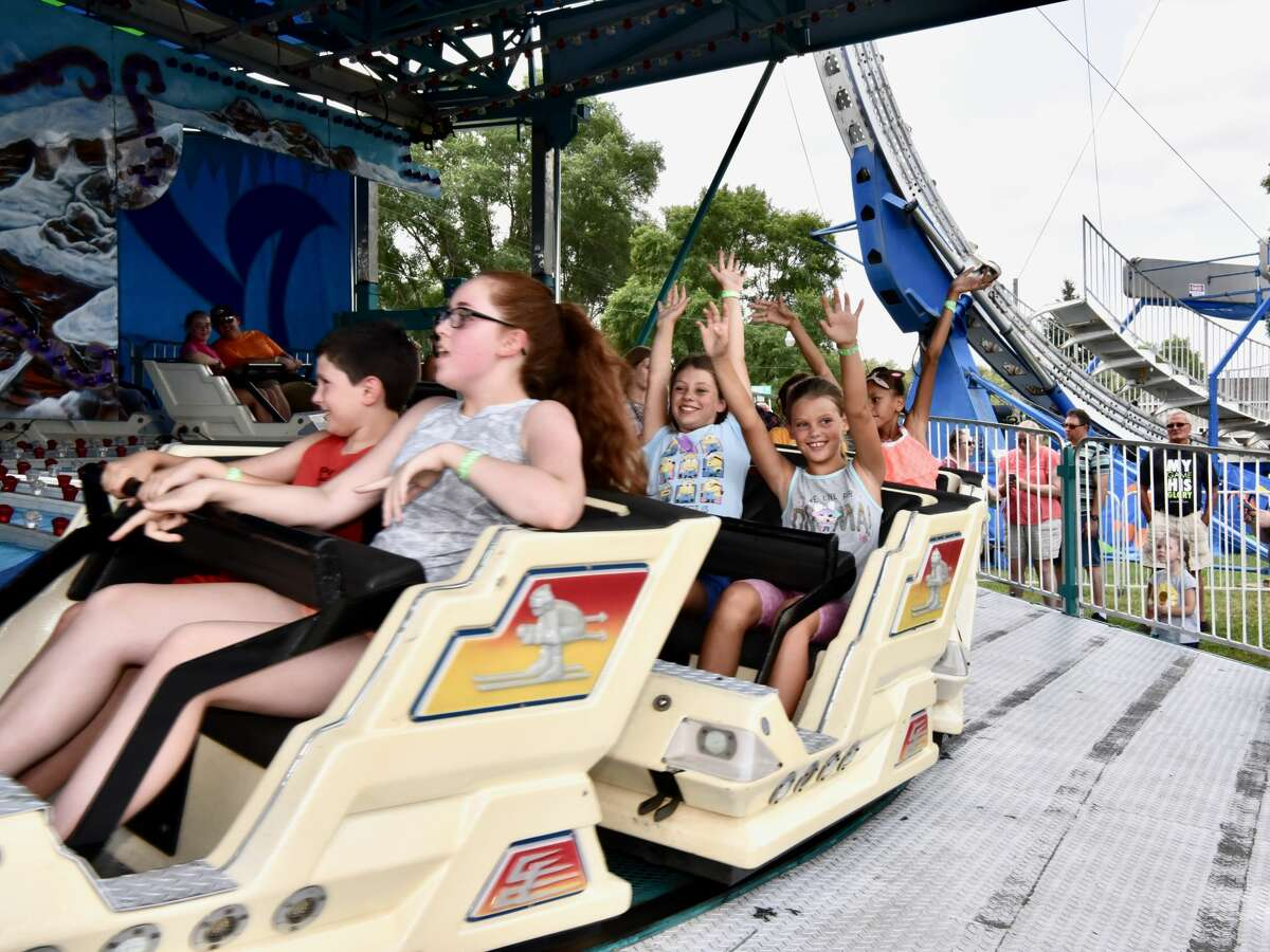 The midway was a popular spot to be Wednesday at the Mecosta County Fair. The morning featured dairy market and market feeder shows. The fair runs now through Saturday, July 17.