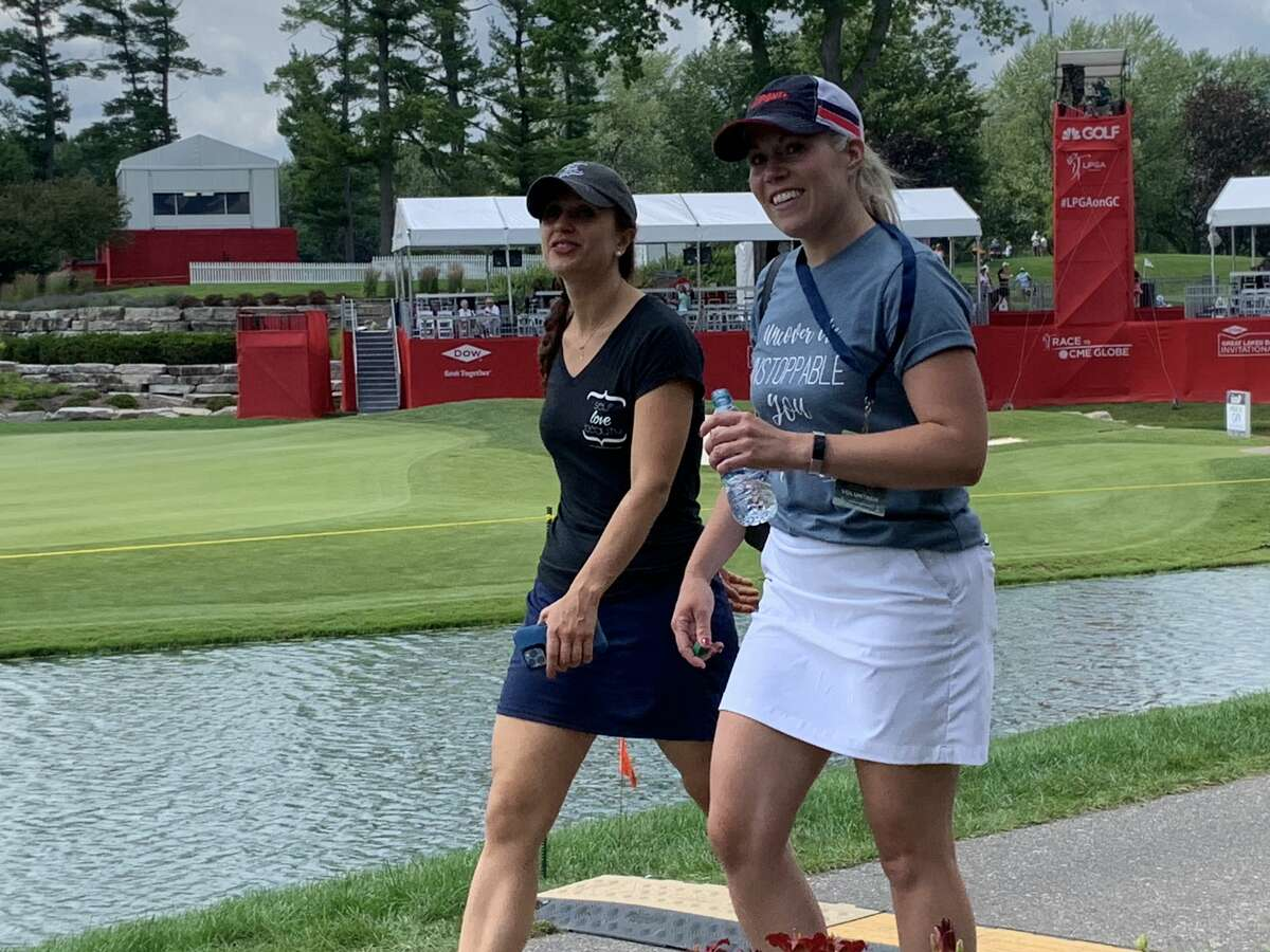 Images from Wednesday's opening round of the Dow Great Lakes Bay Invitational, July 14, 2021