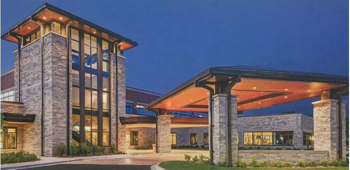 A rendering of a proposed medical center in Orange County presented with a feasibility study to Orange Economic Development Corporation in March of 2019.