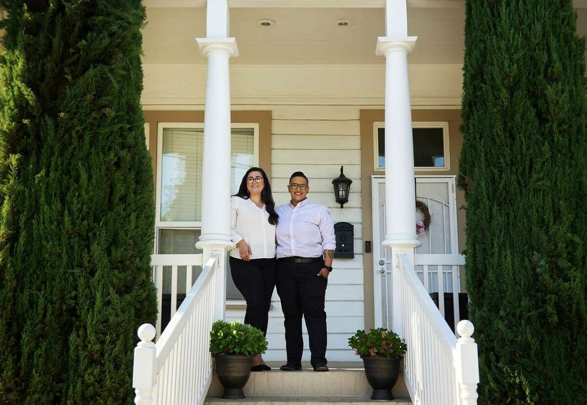 Taylor Mestres and Keteria Lara became first-time home buyers with support from the state and Apple funding.