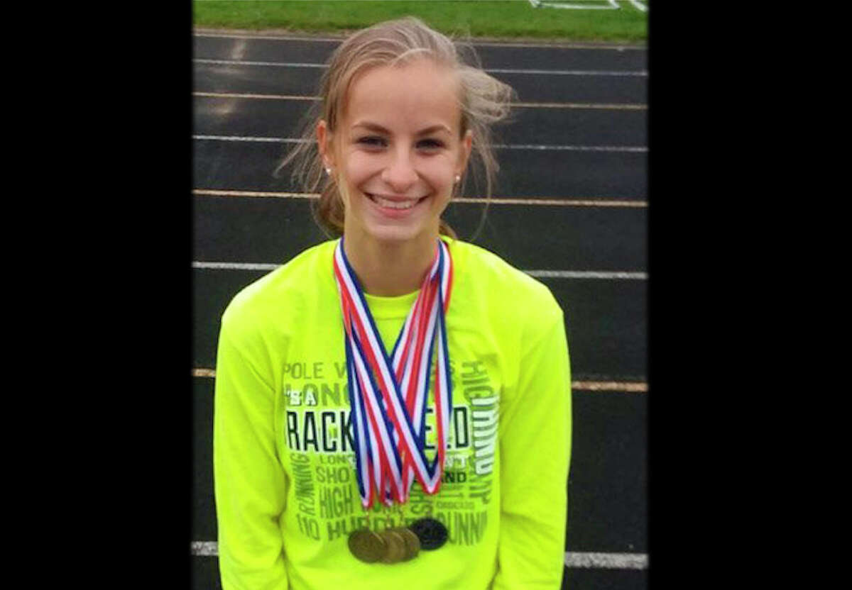 It was a season of picking up plenty of medals for Pine River's Kendra Montague.