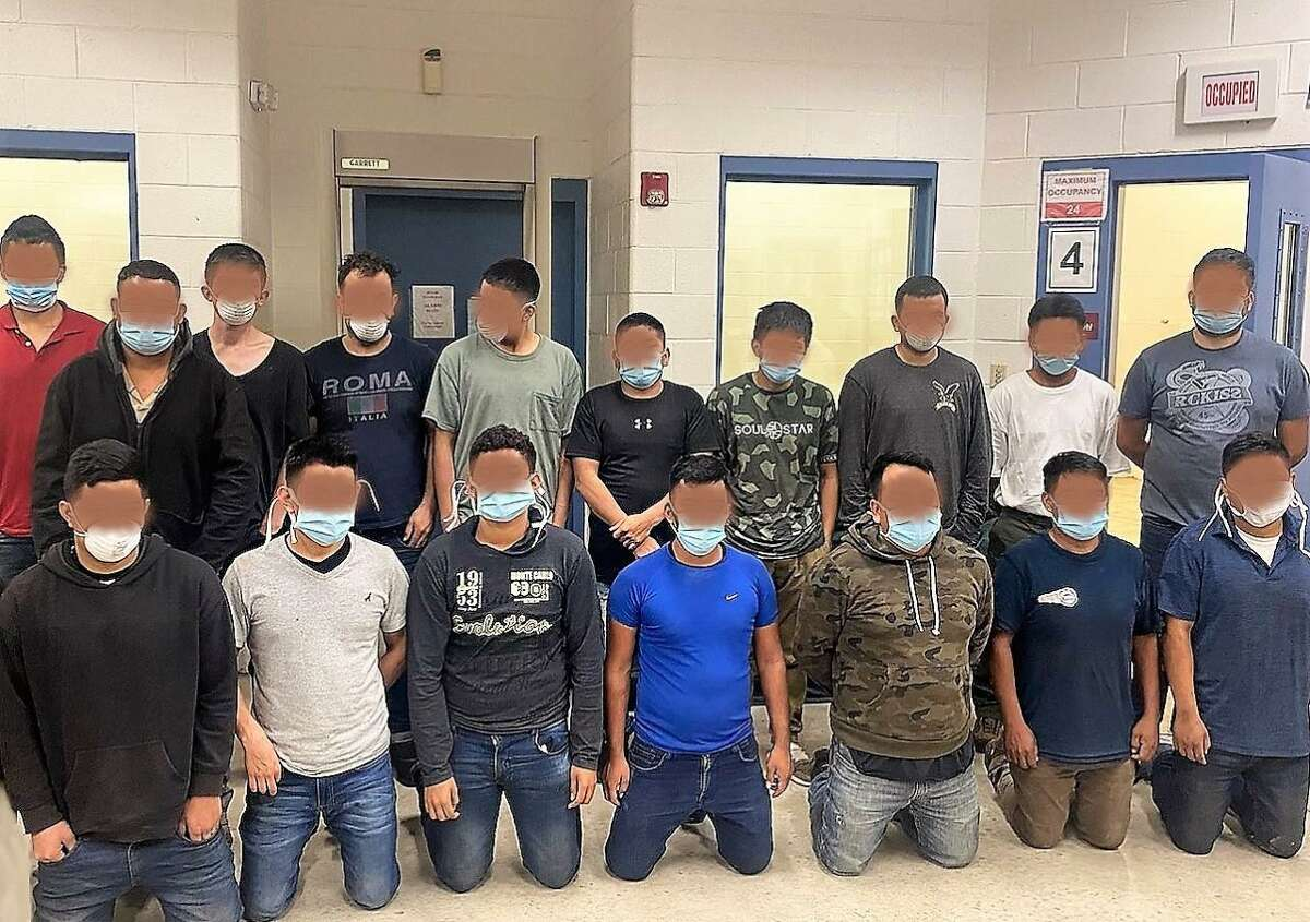 U.S. Border Patrol along with the Texas Department of Public Safety discovered these migrants inside a railcar.