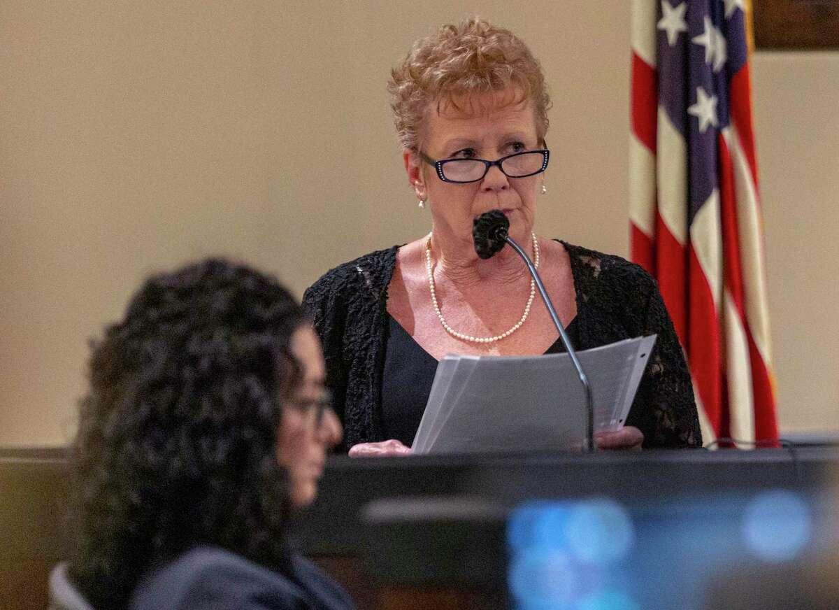 Witness Jennifer Patterson testifies Wednesday, July 14, 2021.