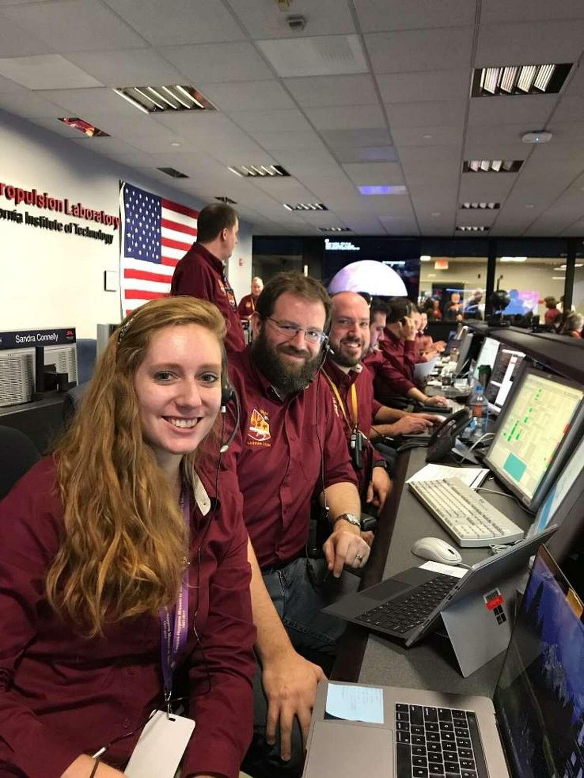 Kyle Cloutier at NASA