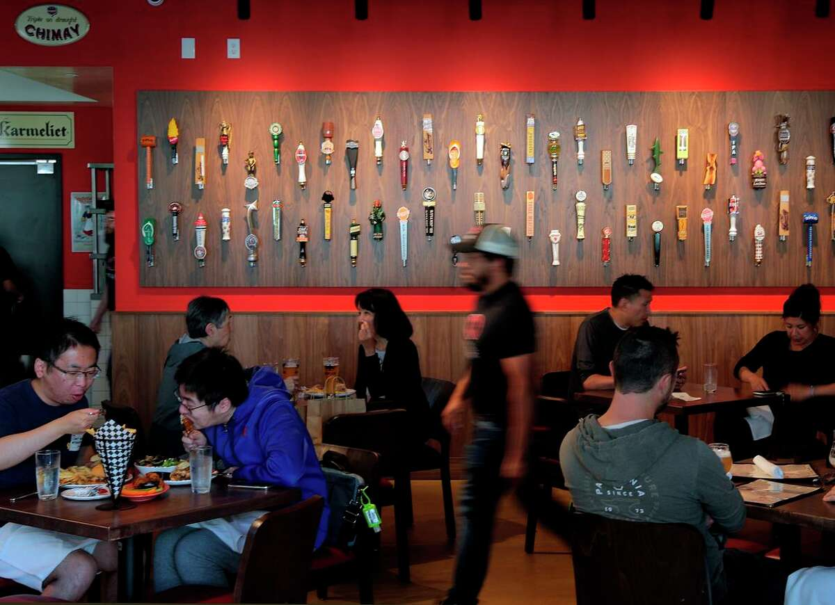 """Refuge restaurant in San Mateo recently added a new """"wellness"""" fee to diners' bills. Co-owner Matt Levin says it was spurred by the fact that he is struggling to find workers."""