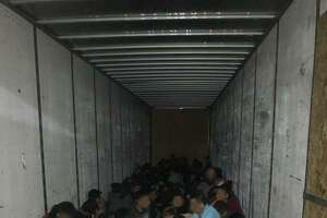 U.S. Border Patrol discovered almost 90 individuals inside an 18-wheeler. All were determined to be migrants who were in the country illegally.