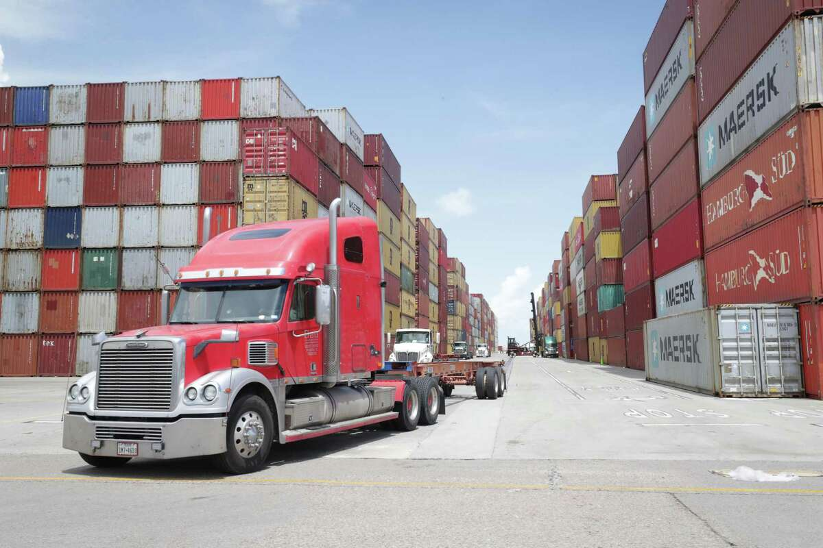 Empty trailers are now stacked as far north on their property that has helped slim down the time a ship needs to be docked. Laurentino Cortizo, the president of Panama plans a visit to Houston Wednesday, July 14, 2021. Work to expand the port's imports/exports have increased and bolstered trade in Houston since the expansion of the Panama Canal in 2016.