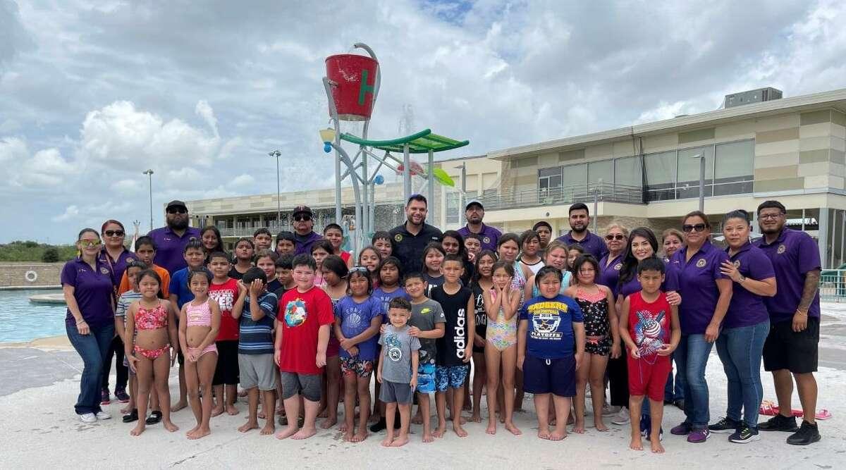 Precinct 1 Commissioner Jesse Gonzalez held week-long summer activities for children in his community.
