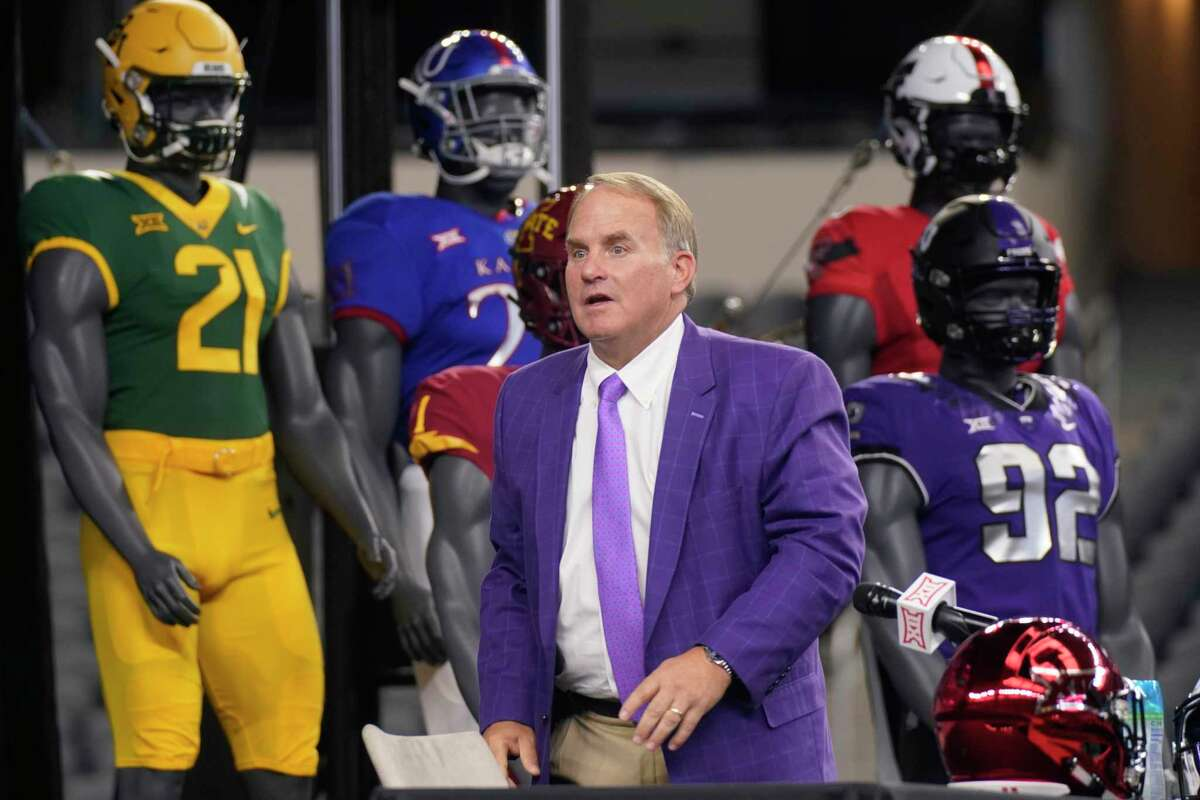 In three seasons since going 11-3, punctuated by a wild Alamo Bowl victory over No. 15 Stanford in 2017, coach Gary Patterson and TCU sport an 18-17 overall record, 12-15 in Big 12 Conference play.