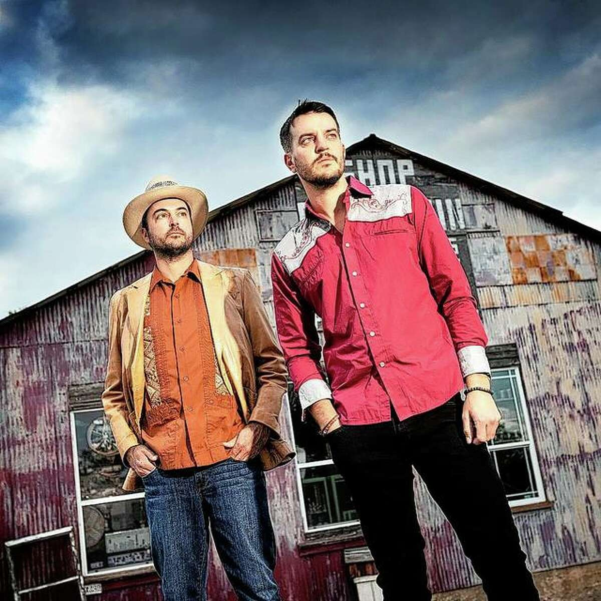 Texas-based band The Statesboro Revue - featuring singer-songwriter-frontman Stewart Mann (left) and his brother, Garrett Mann on lead guitar - will be in concert Friday in downtown Jacksonville as part of the Jacksonville Main Street Downtown Concert Series.