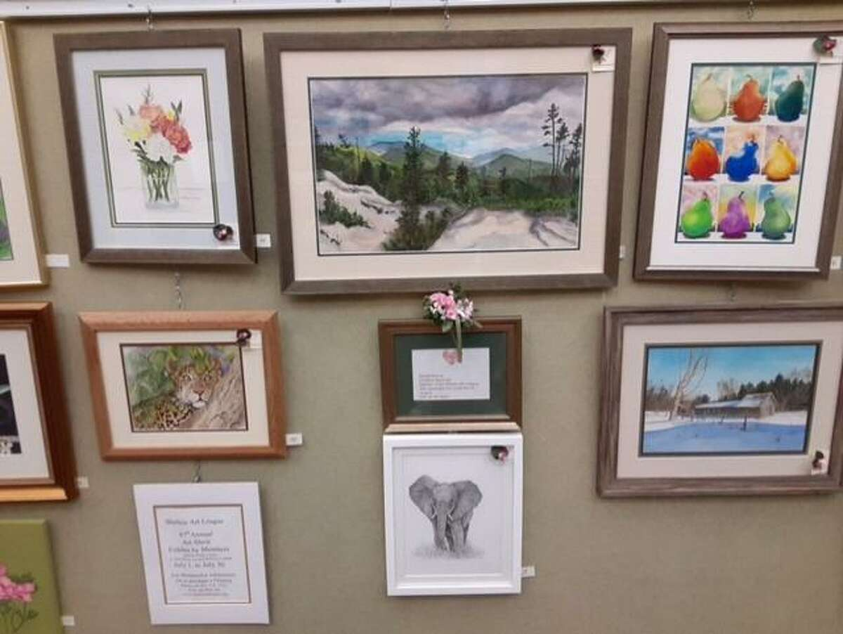 The Shelton Art League is currently having a Members' Art Exhibit. The art exhibit showcases hanging artwork, craftwork, and small paintings. The art exhibit began on Friday, July 2, and goes through Friday, July 30, at the Milford Public Library.