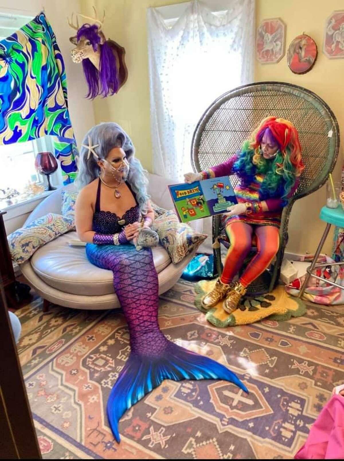 Mermaid Queen Bella Noche and Kaleidoscope Kali