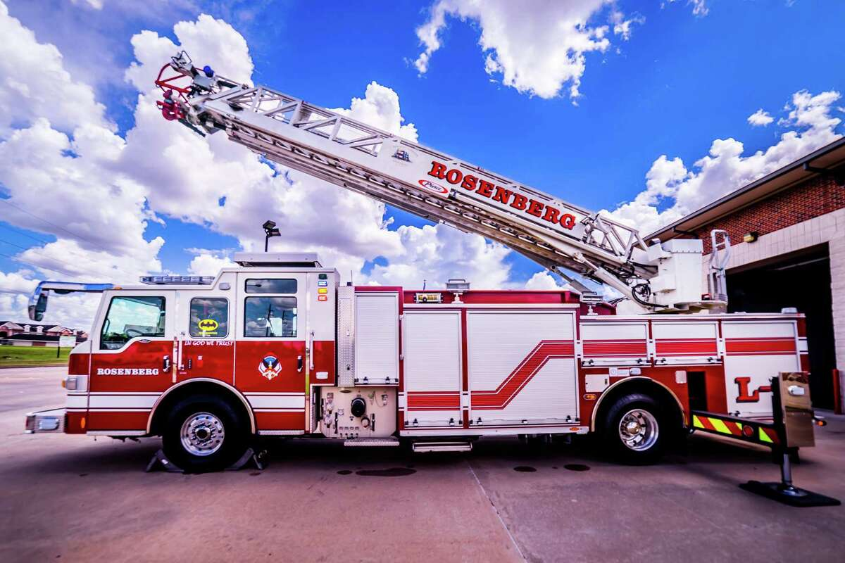 The Rosenberg Fire Department looks forward to welcoming a new ladder truck to its fleet in August 2022.