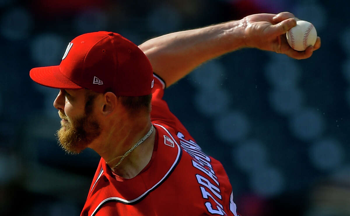 Washington Nationals pitcher Stephen Strasburg has injured his shoulder and neck this season. The team needs him to be healthy in the second half of the season so he can pitch every fifth game.